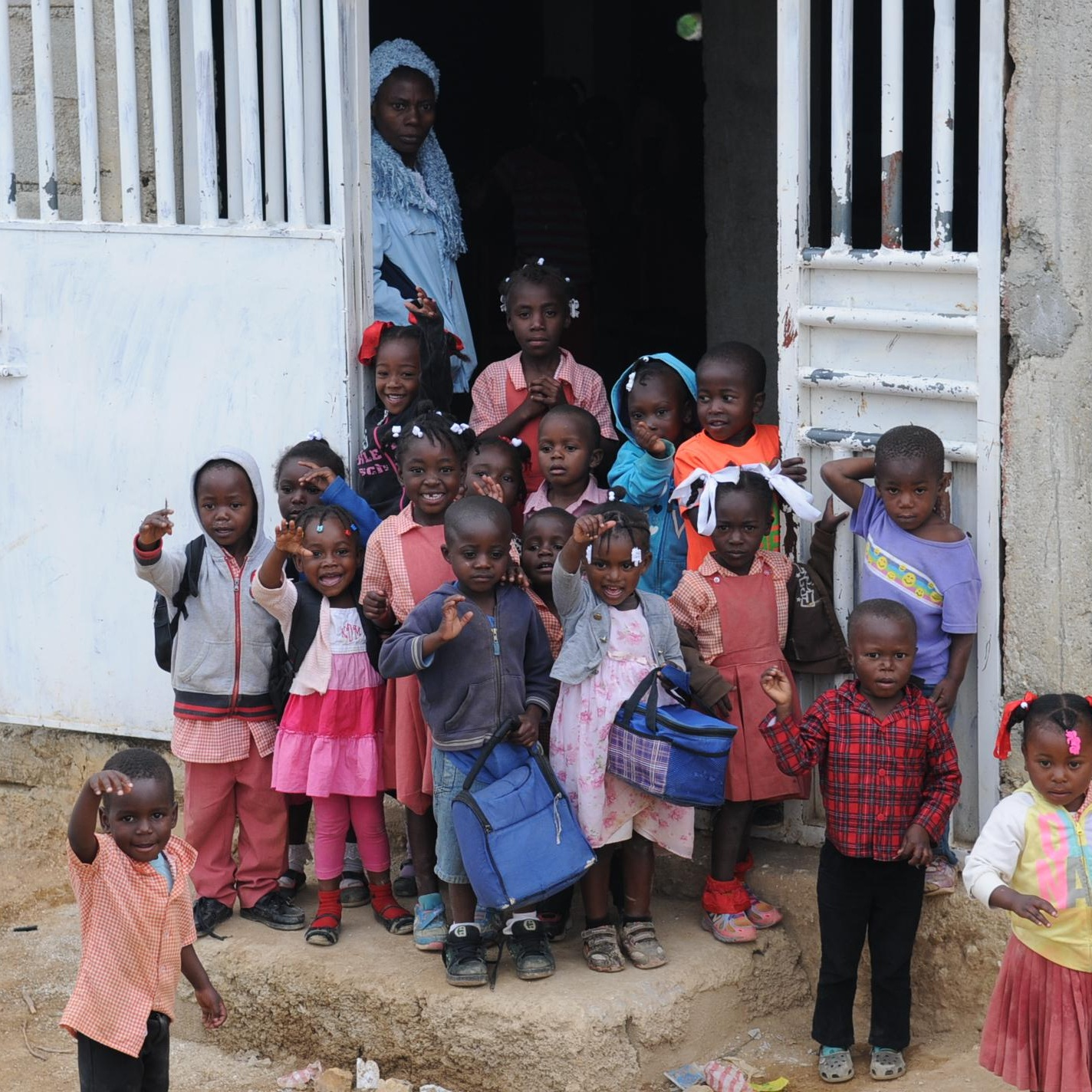 New Birth School - Welcome to the New Birth School in the beautiful mountains of Belot, Haiti. Pastor Reginald Constant established this school in 2010, but it didn't always look like this.