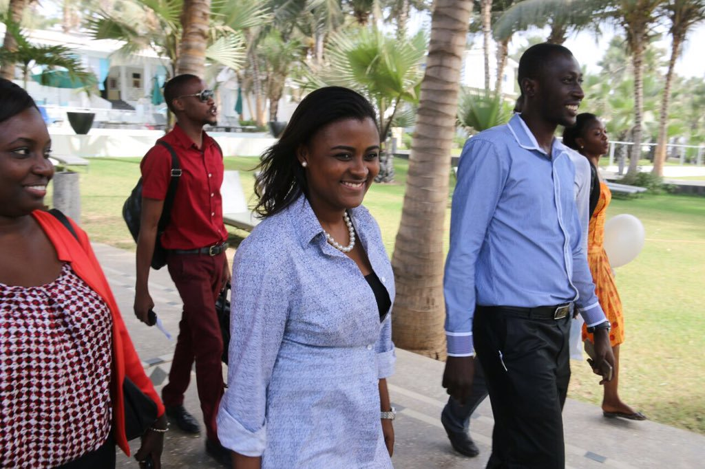 Delegates in Gambia preparing the 10th Anniversary of the  Africa   Youth   Charter  in December, 2016