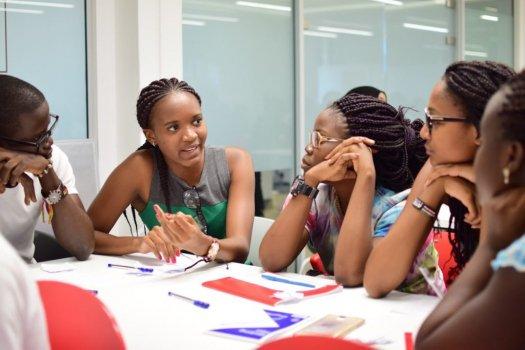 Leadership - Women brainstorm session
