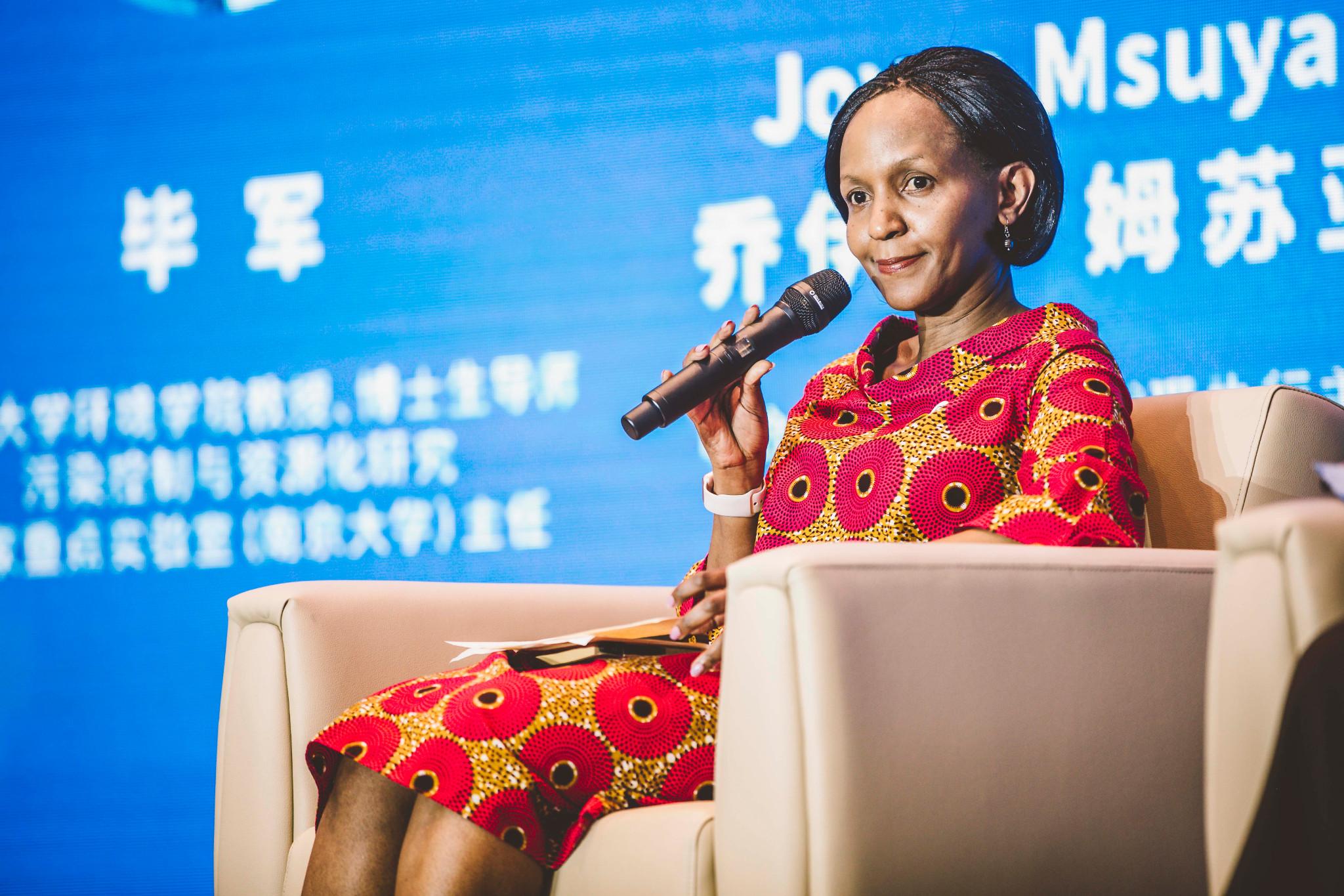 Joyce Msuya, United Nations Environment Programme Director