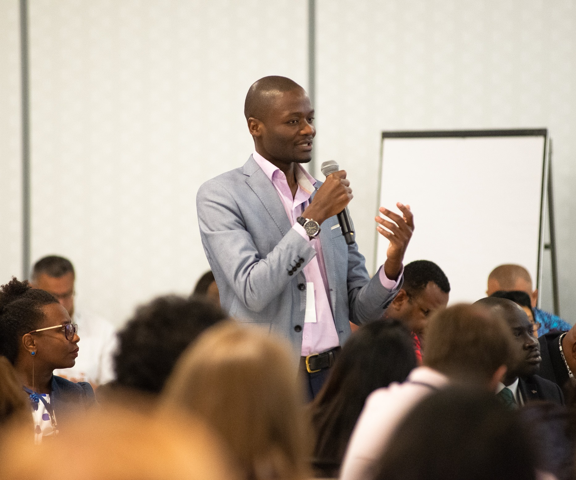 The Youth Cafe's Executive Director, Willice Onyango.