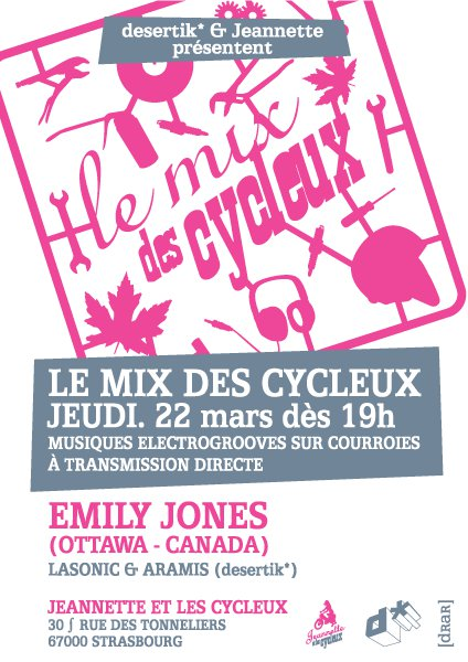 Jeannette & le Cycleux, Strasbourg