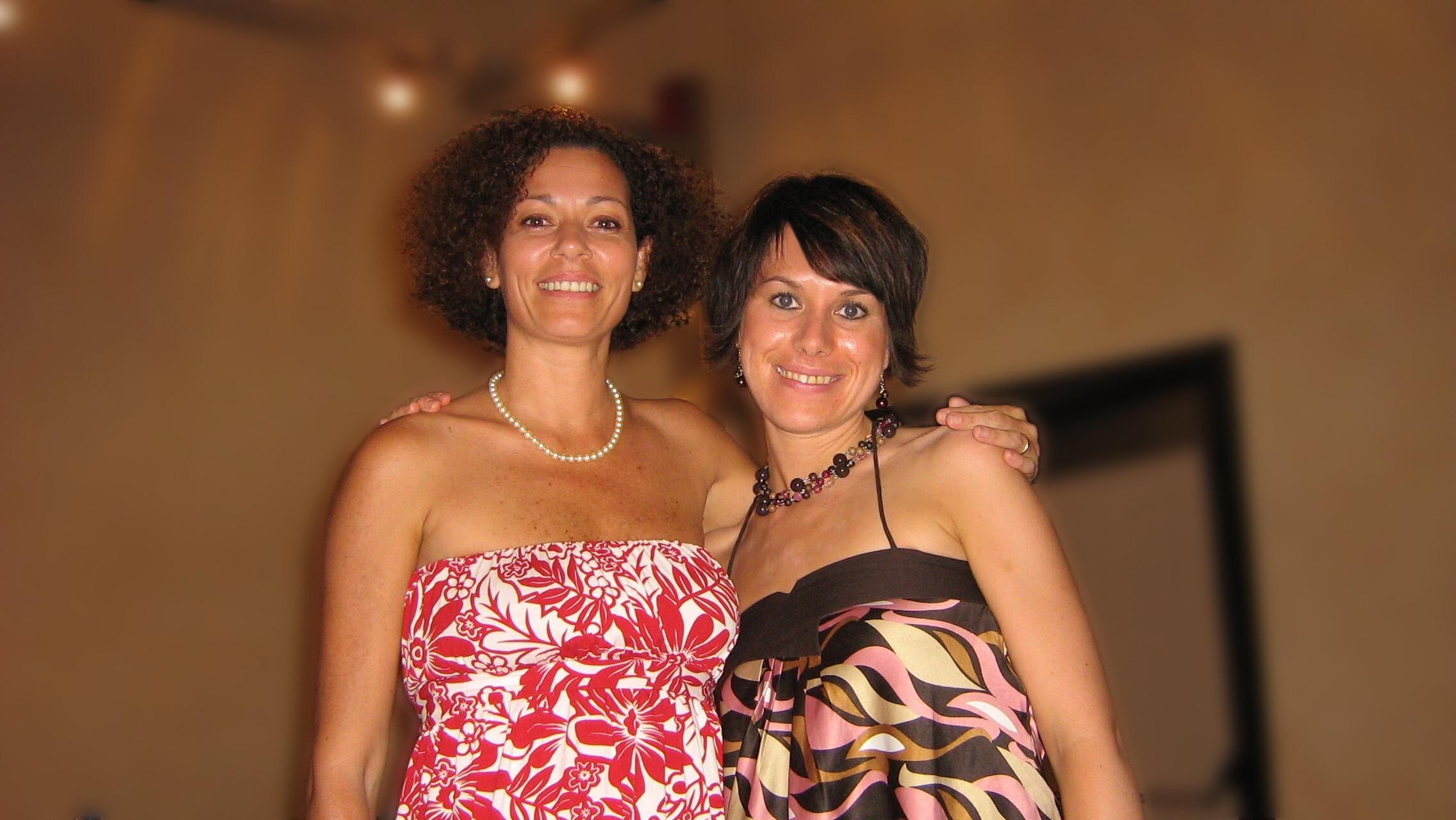 With Rosalia De Souza, Modena, Italy