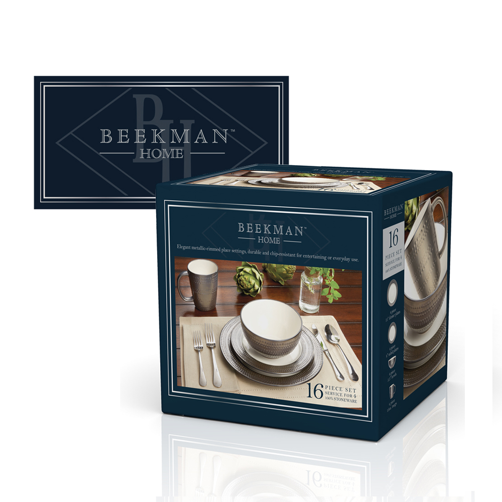 Beekman Home  - Design for a private label developed to fill the need for more traditional, classic home product. The system was built to be as versatile as possible as it was to be used in a wide variety of goods.
