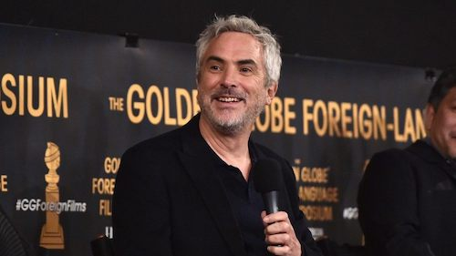 Alfonso Cuaron had a successful night at the Golden Globes, winning Best Director and Best Foreign Film.