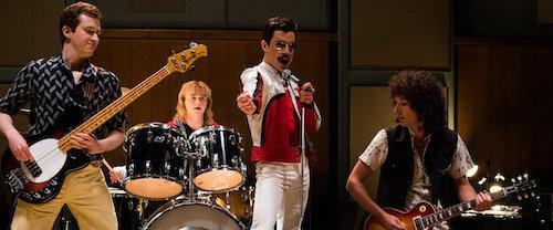Queen portrayed in  Bohemian Rhapsody