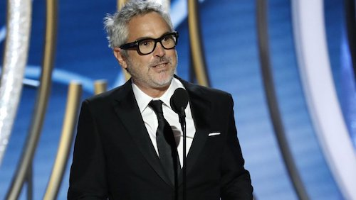 Alfonso Cuarón at the 76th Golden Globes