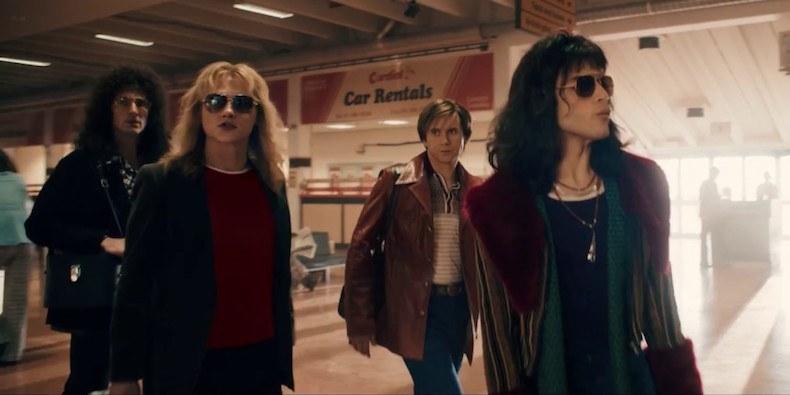 An early scene in  Bohemian Rhapsody .