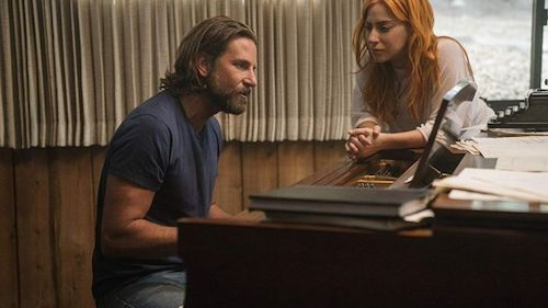 Bradley Cooper and Lady Gaga in a later scene.