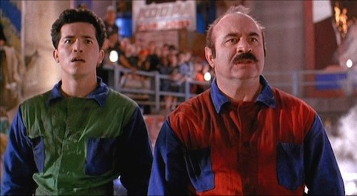 Mario and Luigi Mario in  Super Mario Bros.