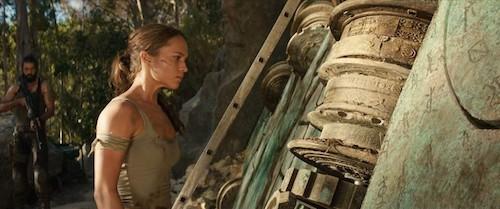 Lara Croft in the  Tomb Raider  reboot.