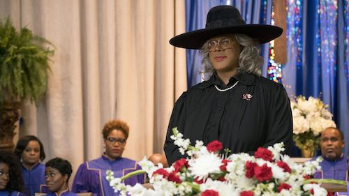 You know this is Tyler Perry dressed up as Madea Simmons by now.