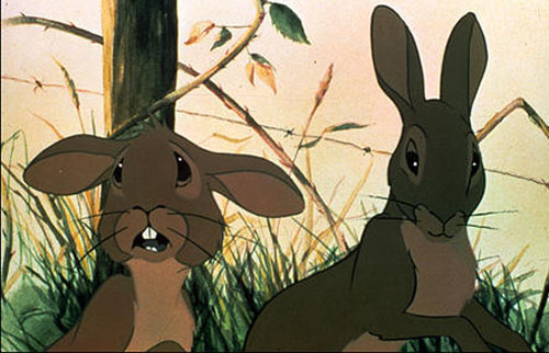 A scene from  Watership Down .