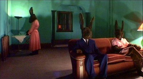 A production still of  Rabbits .