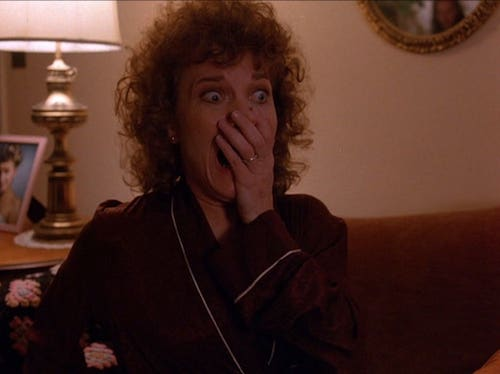 Laura's mom in the pilot episode.