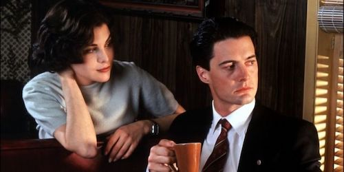 Agent Cooper and Audrey Horne