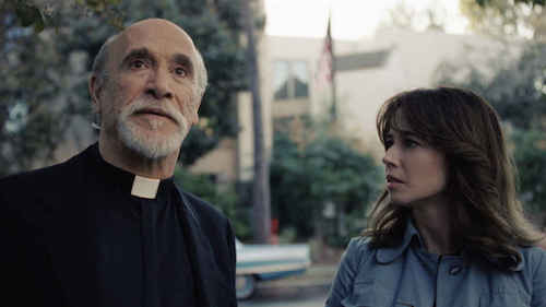 Anne with Father Perez discovering who La Llorona is.