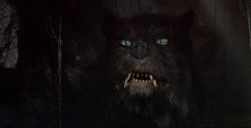 Gmork: a villainous canine that stands as one of the finer animatronics in the film.