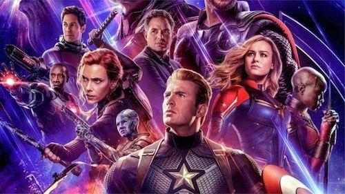 The Avengers: Endgame  poster.