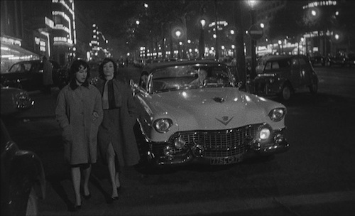 An early scene, which showcases the stylish cinematography.