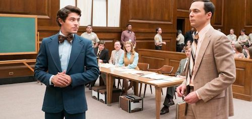 Ted Bundy doing his best to represent himself on trial.
