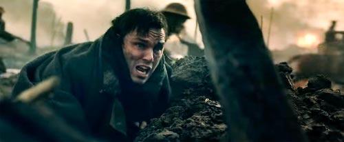 J.R.R. Tolkien surviving the first World War.