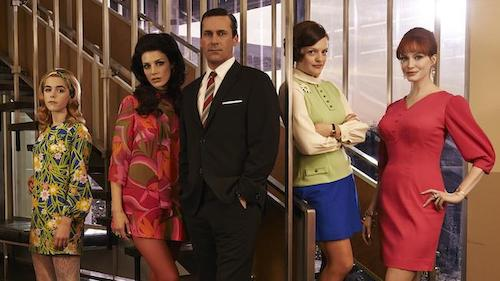 Mad Men  has one of the rare series finales: one of which works, and fits perfectly in its own created world.