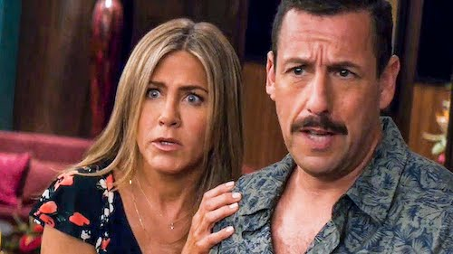 Another Sandler and Aniston outing.
