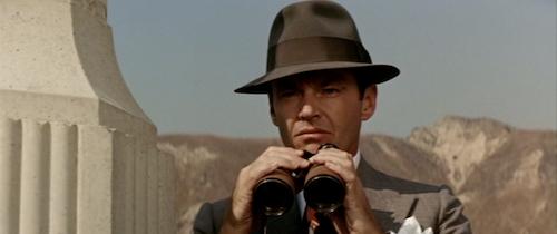 Gittes on the start of his hunt.