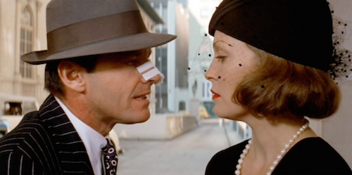 Gittes confronting Mulwray.