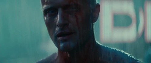 Roy Batty accepting his fate after experiencing life, even for a little bit.