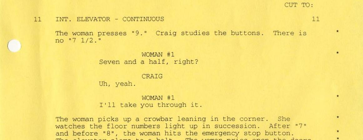 Screenplays can end up being your favourite element of a film, if you're into the literary side of the medium.