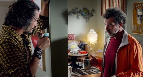 Salvador's adult living space is actually Almodóvar's own home.