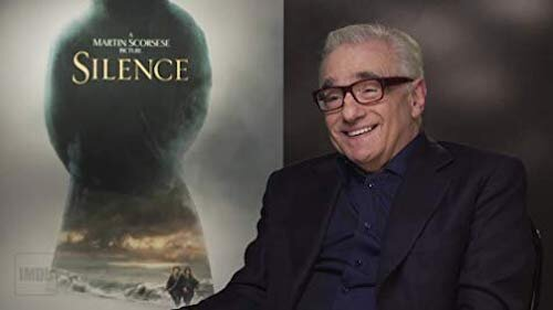 Scorsese promoting his film  Silence .