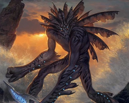 True-Name Nemesis - 1UUCreature — Merfolk RogueAs True-Name Nemesis enters the battlefield, choose a player.True-Name Nemesis has protection from the chosen player. (This creature can't be blocked, targeted, dealt damage, or enchanted by anything controlled by that player.)3/1