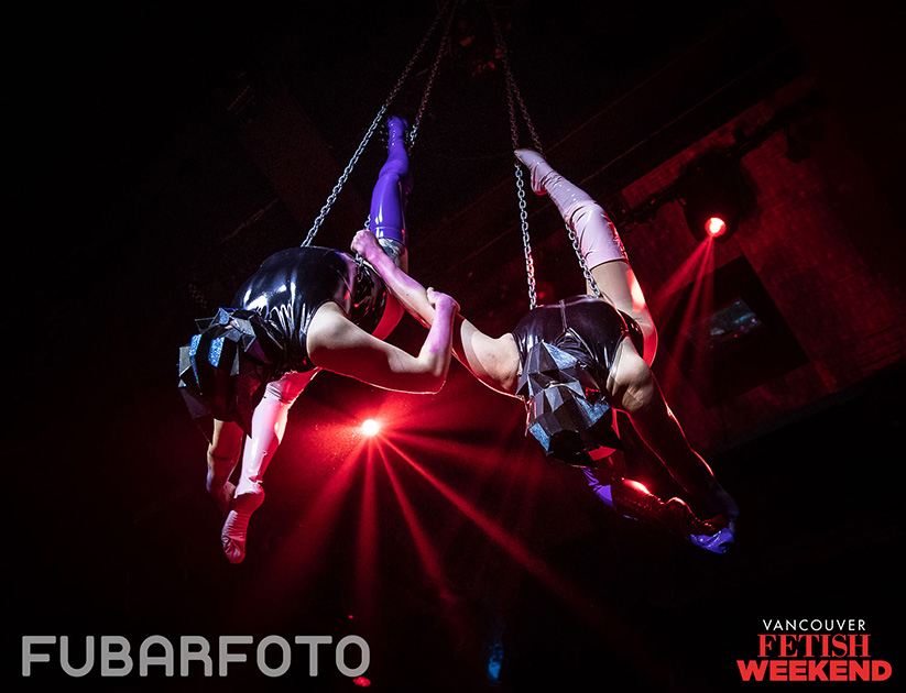 duo aerial chains