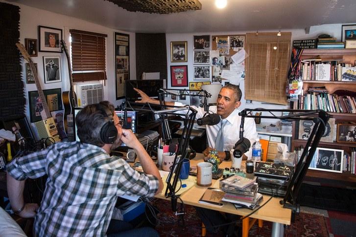 Larson-Obama-with-Marc-Maron.jpg