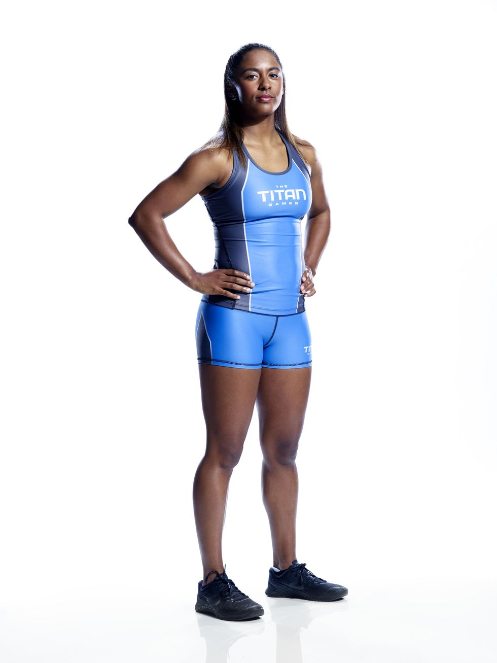 Jasmin Guinn - Instagram: @jasminguinnTwitter: @JasminKGuinnJasmin is both a talented artist and elite athlete. She is a former dual sport NCAA athlete in basketball and track and is here to compete for her grandmother, her greatest inspiration in life and biggest supporter.