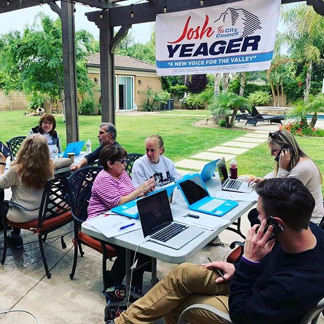 Thank you to all the volunteers of #TeamYeager for joining me to phone bank this weekend!  I appreciate your hard work and support!