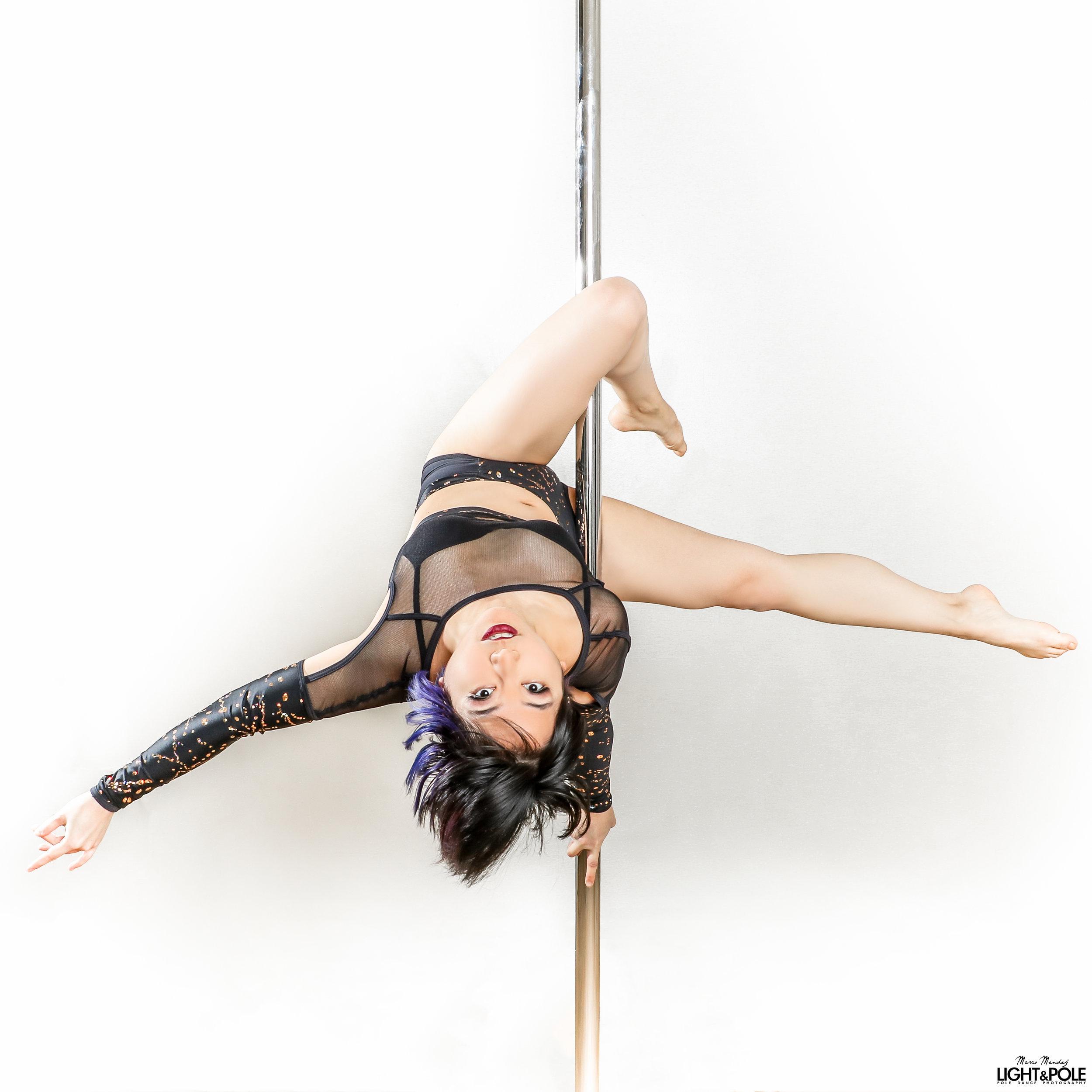 Miss Melanie:  Pole - Salsa