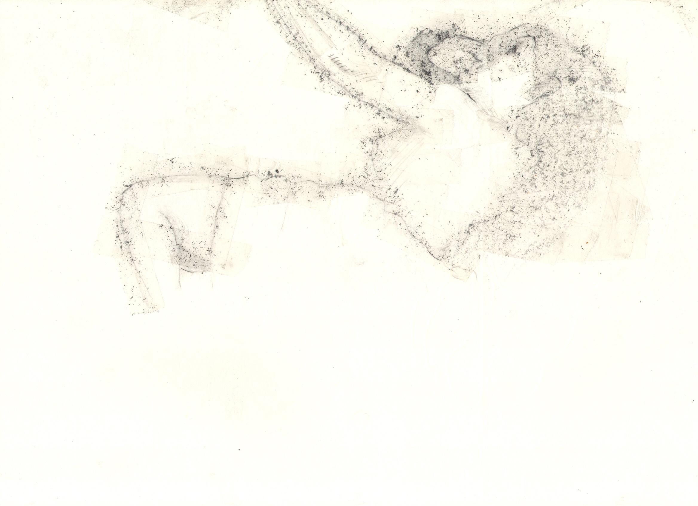 O.T. ( 2 ), 2018  Bleistift auf Papier, 26x35.5cm