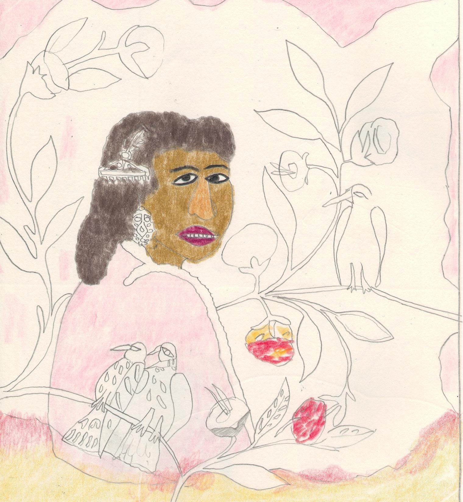 O.T. ( Hector ), 2018  Bleistift auf Papier, 26x35.5cm