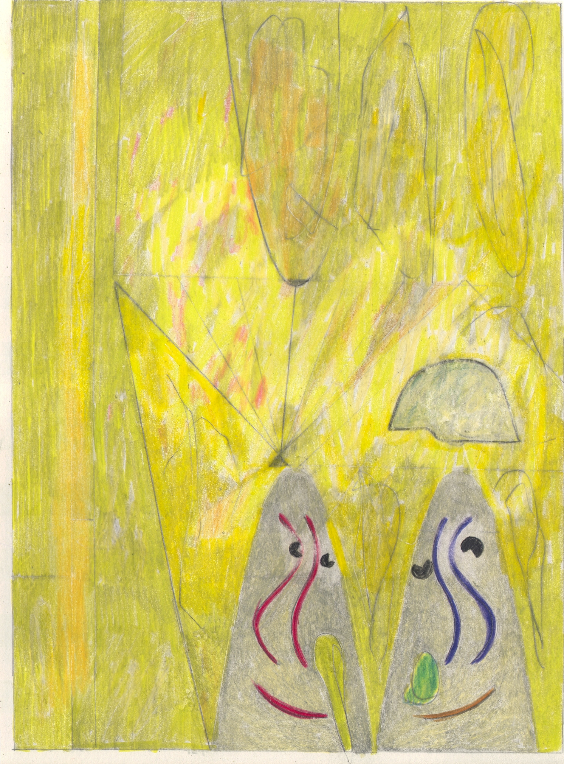 O.T. ( GEO ), 2019  Bleistift auf Papier, 26x35.5cm