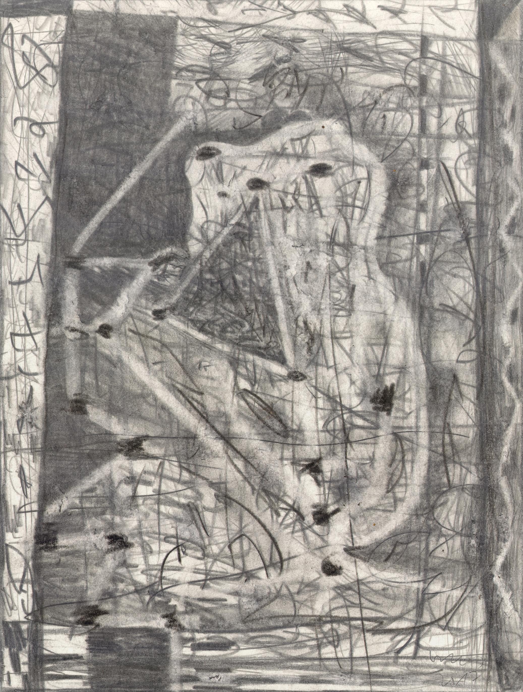 O.T. ( Figur III ) , 2017  Bleistift auf Papier, 26x35.5cm