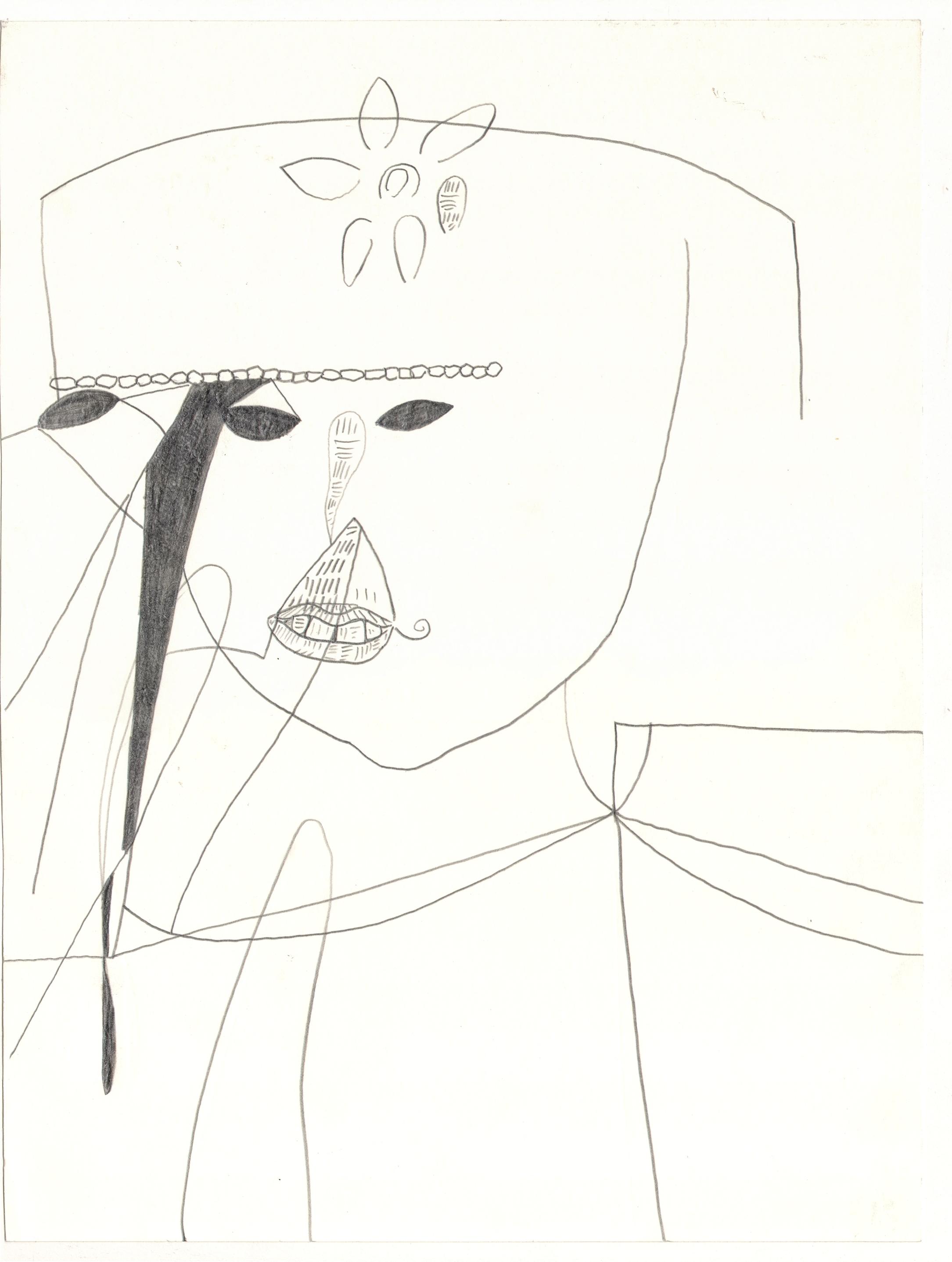 O. T. ( ...... ) , 2006  Bleistift auf Papier, 26x35.5cm