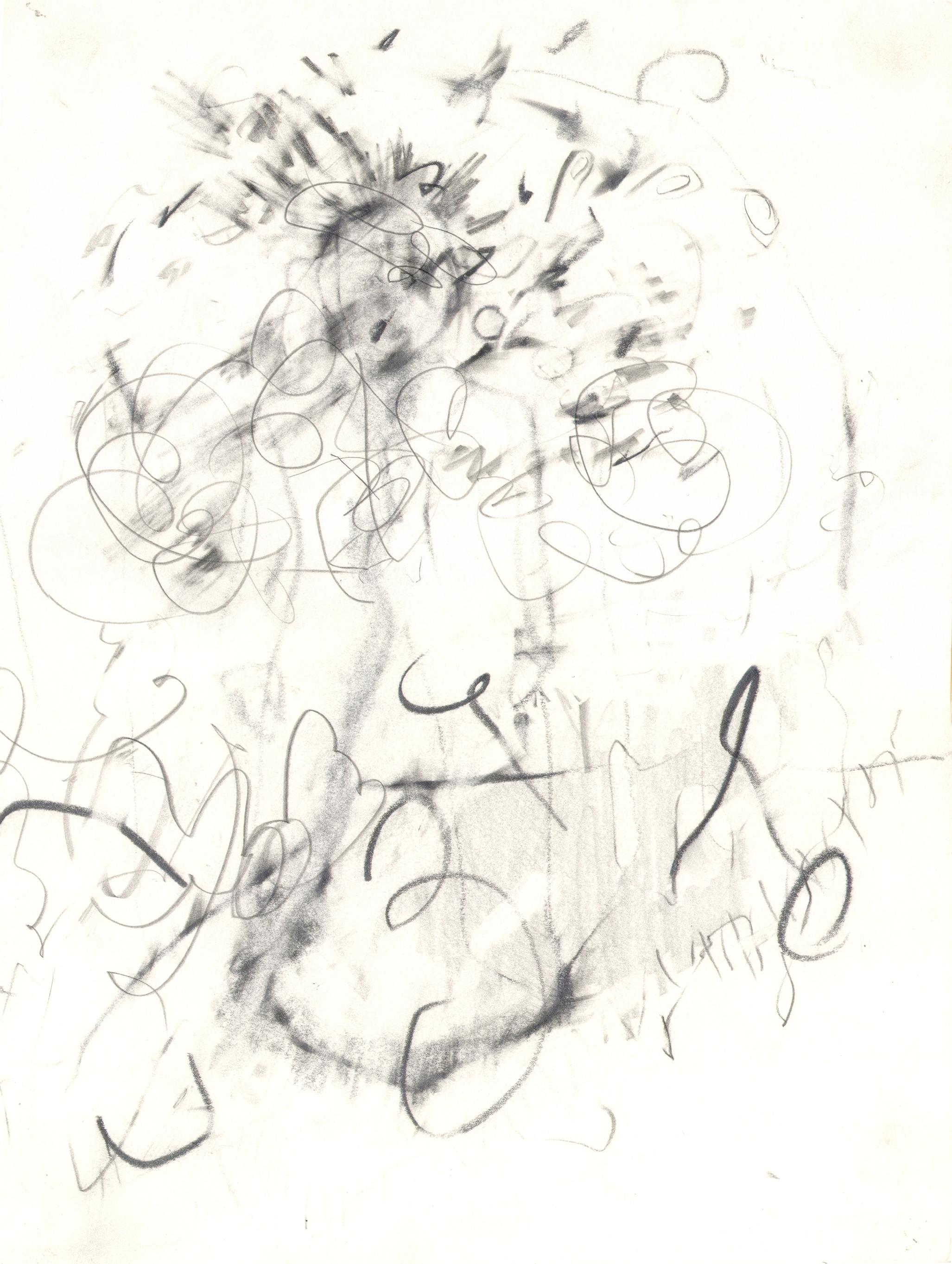 O.T ( Abstraktion II ), 2006  Bleistift auf Papier, 26x35.5cm