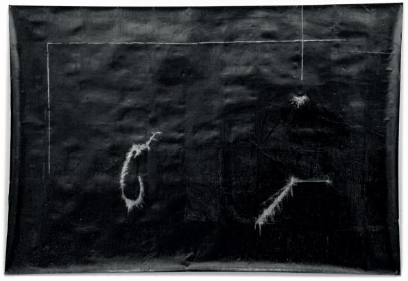 O.T., 2007  Bleistift auf Papier, 200x150cm