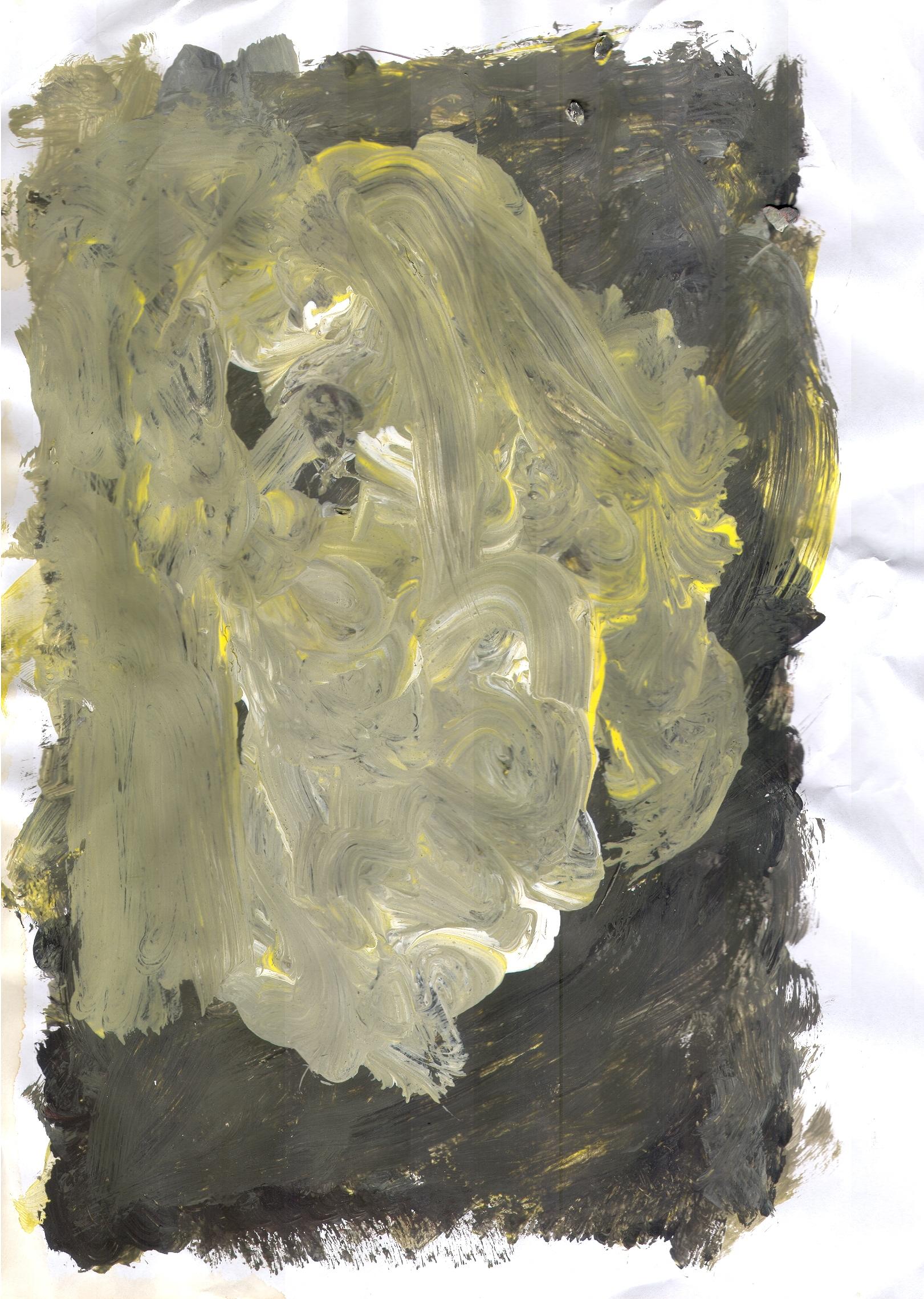 O.T., 2017  Tempera Papier, 29.8x21cm
