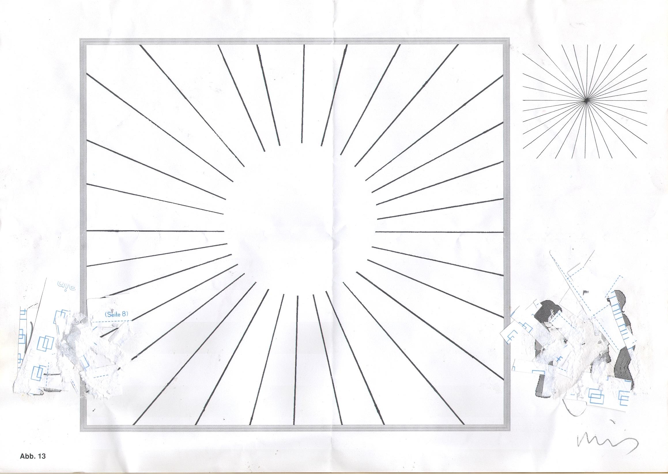 O.T. ( Sonne ), 2015  Bleistift Papier, 29.8x21cm
