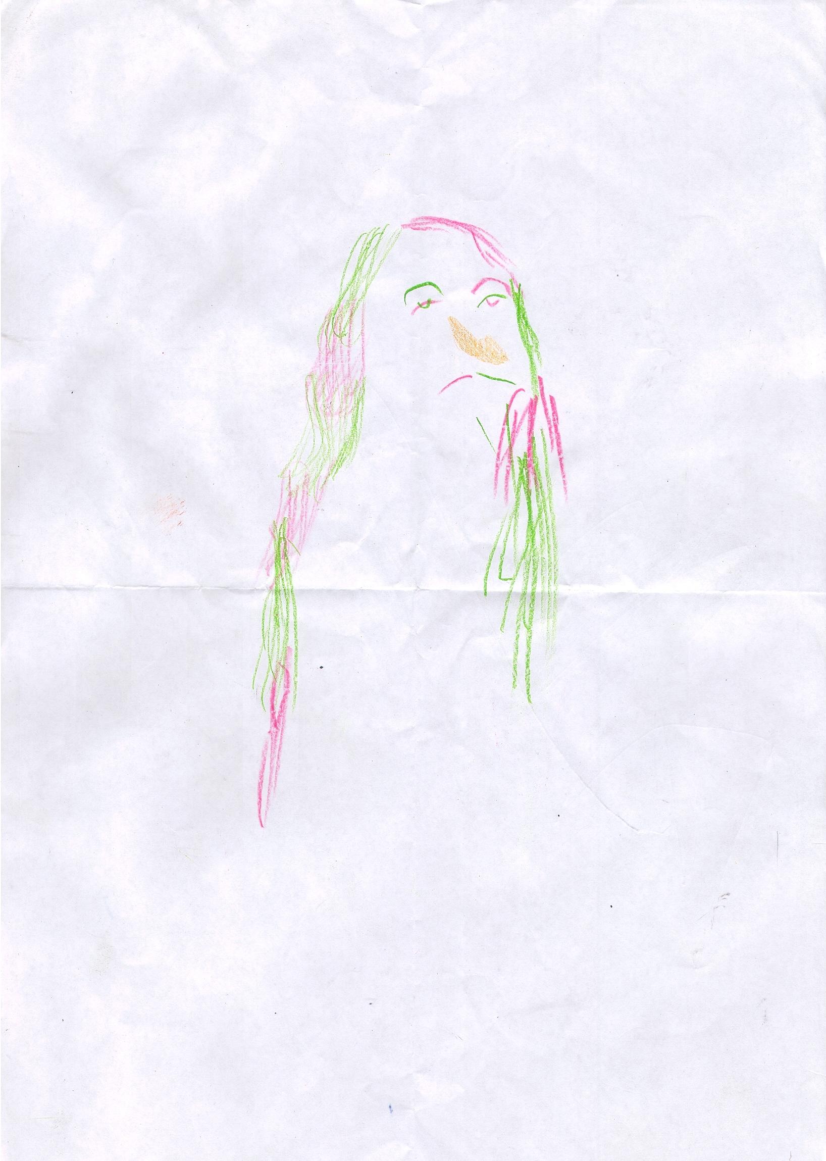 O.T. , 2015  Buntstift Papier, 29.8x21cm